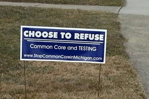 Choose to Refuse Yard Signs