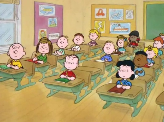 Collaborative Classroom Van Pelt : Good grief charlie brown is quot college career ready