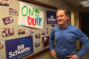 "Is Schuette on ""Education"" Duty?"